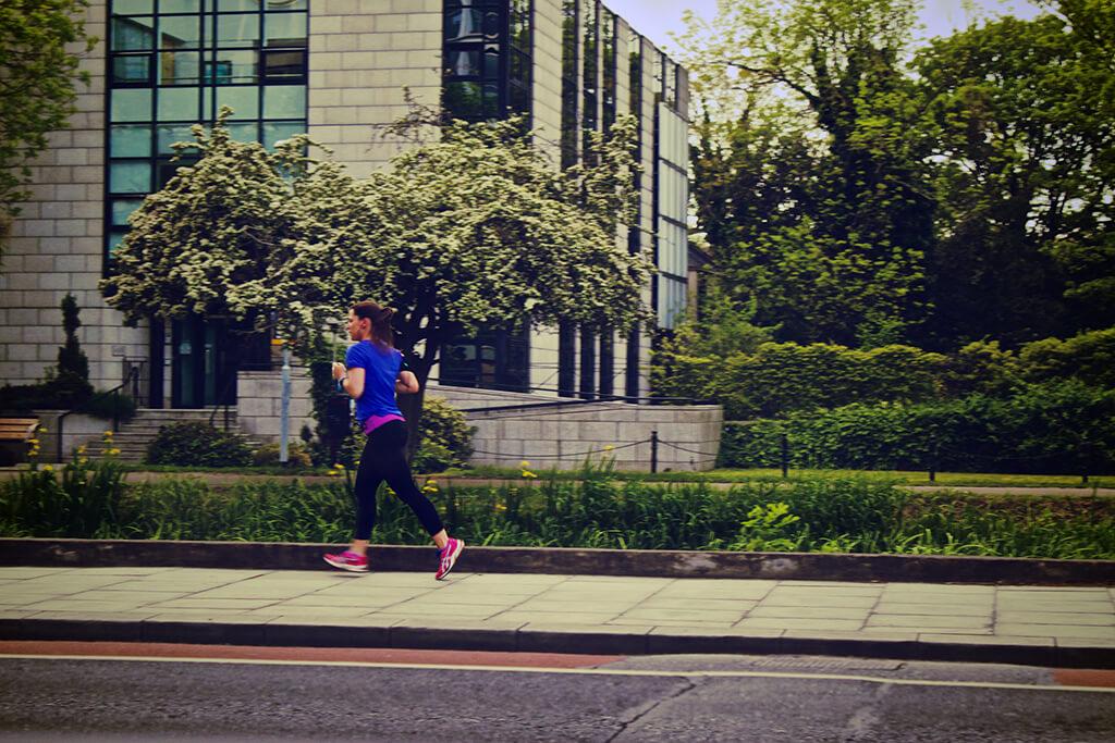 Běhání po městě je trendem
