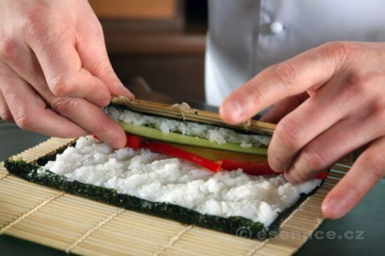 Dobré sushi si zamiluje každý