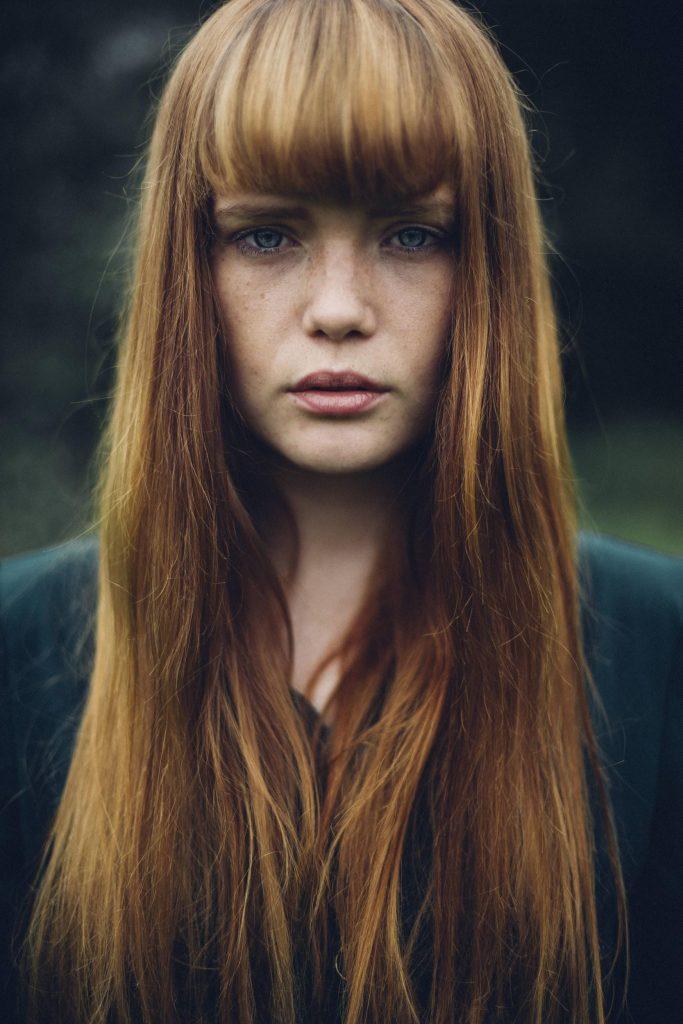 Podzimní typ a barva vlasů