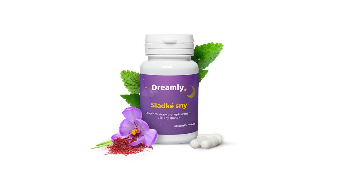 Dreamly - doplněk stravy pro kvalitní spánek