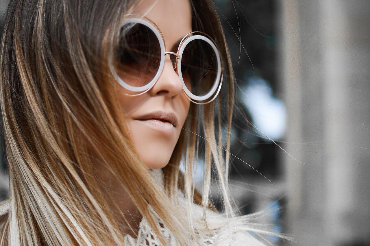 Designové kulaté brýle
