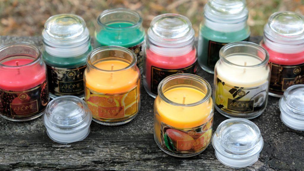 Vonné svíčky Arôme